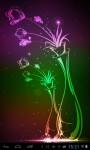 Neon flowers lwp screenshot 1/3