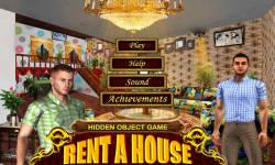 Free Hidden Objects Game - Rent a House screenshot 1/4