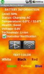 Sandglass Battery Widget HD screenshot 4/4