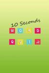10 Seconds Word Quiz screenshot 1/4