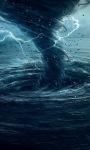 Blue Tornado Live Wallpaper screenshot 1/3