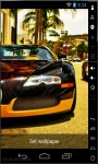 Tunning Cars Live Wallpaper screenshot 2/3