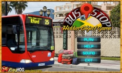 Free Hidden Object Games - Bus Stop screenshot 1/4