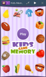 Kids Memory Game New Edition screenshot 1/4