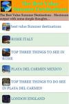 The Best Value Summer Destinations screenshot 2/3