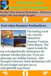 The Best Value Summer Destinations screenshot 3/3