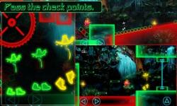 Glow Man Runner of Dark Night screenshot 2/6