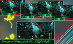 Glow Man Runner of Dark Night screenshot 5/6