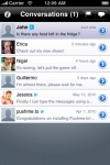 Pushme.to: free instant messages on iPhone and in the browser screenshot 1/1