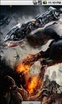 Flame Warrior Live Wallpaper screenshot 2/4