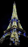 Eiffel tower Glow Live Wallpaper screenshot 3/3