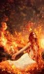Angle In Fire Live Wallpaper screenshot 1/3