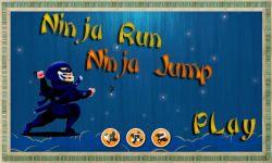 Ninja Jump Rush Game screenshot 1/4