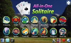 All-in-One Solitaire FREE screenshot 1/4