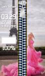 Zipper Lock Screen Princess screenshot 4/6