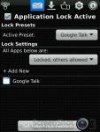 Lock for Google Talk screenshot 2/3