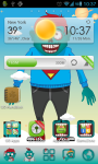 Zombie Theme Go Launcher screenshot 1/3