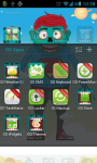 Zombie Theme Go Launcher screenshot 2/3