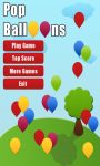 Pop Balloons Game screenshot 1/3