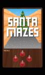 Santa Mazes Free screenshot 1/3