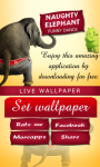 Naughty Elephant Live wallpaper screenshot 2/6
