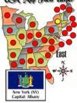 US States Map Facts screenshot 1/1