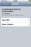 Mendeley - Reference Manager (Lite) screenshot 1/1