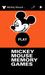 MICKEY MOUSE MEMORY GAMES screenshot 1/6