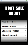 Boot Sale Buddy screenshot 1/1