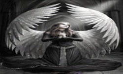 White Wings fairy Live Wallpaper screenshot 2/3