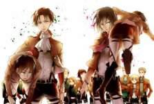 Shingeki no Kyojin Wallpaper screenshot 2/3
