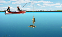 Lake Fishing Games screenshot 1/4