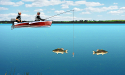 Lake Fishing Games screenshot 2/4