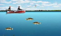 Lake Fishing Games screenshot 3/4