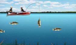 Lake Fishing Games screenshot 4/4