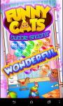 Funny Cats Bubble Shooter screenshot 1/6