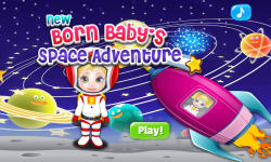 New Born Baby Space Adventure screenshot 1/6