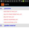 My Shopping List Creator screenshot 1/4