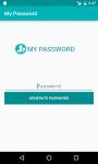 My Password screenshot 1/5