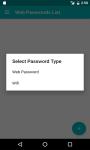 My Password screenshot 3/5