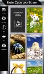 Easter Zipper Lock Screen Best screenshot 4/6