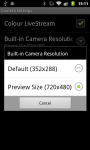 SECuRET LiveStream DEMO screenshot 5/6