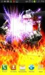 Zombie Guitarist Fire Play LWP free screenshot 1/4