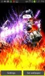 Zombie Guitarist Fire Play LWP free screenshot 3/4