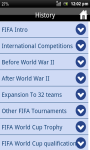 World Cup Football History screenshot 2/3