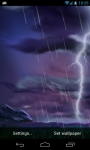 Thunder Storm LWP screenshot 2/4