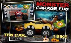 Monster Car Garage Fun screenshot 1/5
