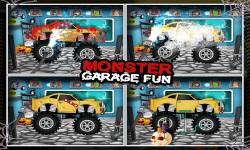Monster Car Garage Fun screenshot 2/5