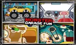 Monster Car Garage Fun screenshot 3/5