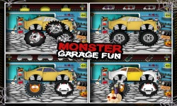 Monster Car Garage Fun screenshot 4/5